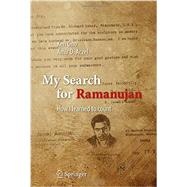 My Search for Ramanujan by Ono, Ken; Aczel, Amir D., 9783319255668