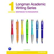Value Pack: Longman Academic Writing Series 1: Sentences to Paragraphs, and MyEnglishLab: Writing 1 (Access Code Card), 2/e by BUTLER, 9780133915679