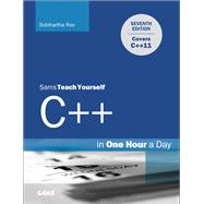 Sams Teach Yourself C++ in One Hour a Day by Rao, Siddhartha, 9780672335679
