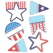 Stars and Stripes Cut-outs by Carson-Dellosa Publishing Company, Inc., 9781483835679