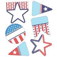 Stars and Stripes Cut-outs by Carson-Dellosa Publishing Company, Inc., 9781483835679