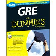 1,001 Gre Practice Questions for Dummies + Free Online Practice Tests by Woldoff, Ron, 9781118825686