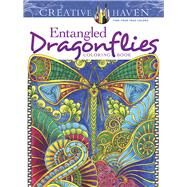 Creative Haven Entangled Dragonflies Coloring Book by Porter, Angela, 9780486805689