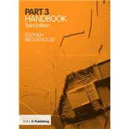Part 3 Handbook by Brookhouse; Stephen, 9781859465691