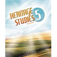 Heritage Studies 5 Student Text (3rd ed.) by BJU, 9781591665700