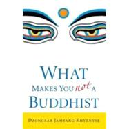 What Makes You Not a Buddhist by KHYENTSE, DZONGSAR JAMYANG, 9781590305706
