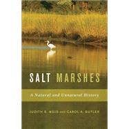 Salt Marshes by Weis, Judith S., 9780813545707