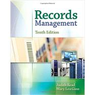 Bundle: Records Management, 10th + LMS Integrated for MindTap® Office Technology, 1 term (6 months) Printed Access Card by Read, Judy, 9781305625723
