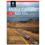 Rand Mcnally 2017 Deluxe Motor Carriers' Road Atlas by Rand Mcnally, 9780528015724