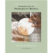 Introduction to Probability Models Operations Research, Volume II (with CD-ROM and InfoTrac) by Winston, Wayne L., 9780534405724