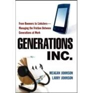 Generations, Inc. by Johnson, Meagan, 9780814415733
