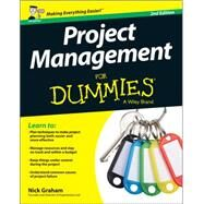 Project Management for Dummies: Uk Edition by Graham, Nick, 9781119025733