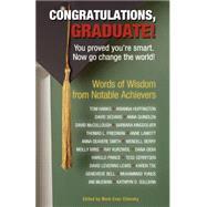 Congratulations, Graduate! by Chimsky, Mark Evan, 9781416245735