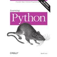 Learning Python by Lutz, Mark, 9781449355739