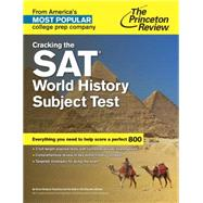 Cracking the SAT World History Subject Test by PRINCETON REVIEW, 9780804125741