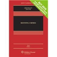 Defining Crimes by Hoffmann, Joseph L.; Stuntz, William J., 9781454875741