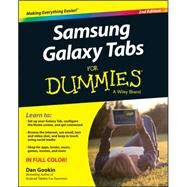 Samsung Galaxy Tab S for Dummies by Gookin, Dan, 9781119005742