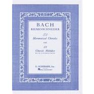371 Harmonized Chorales and 69 Chorale Melodies With Figured Bass: Piano Solo by Bach, Johann Sebastian, 9780793525744