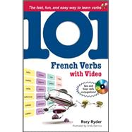 101 French Verbs with MP4 Video Disc by Ryder, Rory, 9780071615747