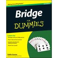 Bridge for Dummies by Kantar, Eddie, 9781118205747