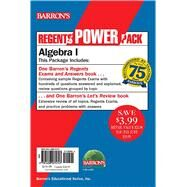 Barron's Regents Power Pack Algebra 1 by Rubinstein, Gary M., 9781438075747