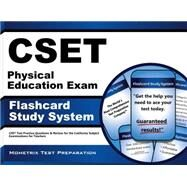 CSET Physical Education Exam Flashcard Study System : CSET Test Practice Questions and Review for the California Subject Examinations for Teachers by Cset Exam Secrets, 9781609715748