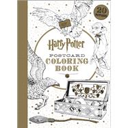 Harry Potter Postcard Coloring Book by Unknown, 9781338045758