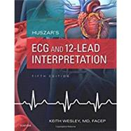 Huszar's ECG and 12-lead Interpretation by Wesley, Keith, 9780323355759