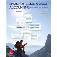Financial and Managerial Accounting Information for Decisions by Wild, John; Shaw, Ken; Chiappetta, Barbara, 9780078025761