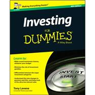 Investing for Dummies by Levene, Tony, 9781119025764