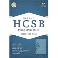 HCSB Super Giant Print Reference Bible, Teal LeatherTouch by Unknown, 9781433615764