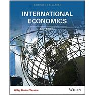 International Economics by Salvatore, Dominick, 9781118955765