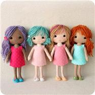My Felt Doll by Down, Shelley, 9781446305768