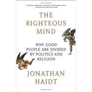 The Righteous Mind by HAIDT, JONATHAN, 9780307455772
