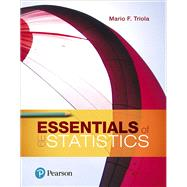 Essentials of Statistics by Triola, Mario F., 9780134685779