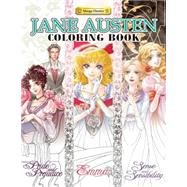 Jane Austen Coloring Book by Udon Entertainment Production, 9781927925782