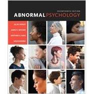 Abnormal Psychology, Books Ala Carte Edition by Hooley, Jill M.; Butcher, James N.; Nock, Matthew K.; Mineka, Susan, 9780134225784