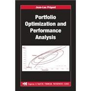 Portfolio Optimization And Performance Analysis by Prigent; Jean-Luc, 9781584885788