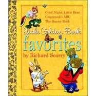Little Golden Book Favorites by Richard Scarry by GOLDEN BOOKSGOLDEN BOOKS, 9780375845802