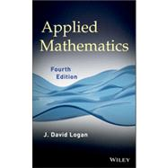 Applied Mathematics by Logan, J. David, 9781118475805