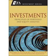 Investments : Principles of Portfolio and Equity Analysis by McMillan, Michael G.; Pinto, Jerald E.; Pirie, Wendy; Van de Venter, Gerhard; Kochard, Lawrence E., 9780470915806