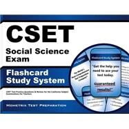 CSET Social Science Exam Flashcard Study System : CSET Test Practice Questions and Review for the California Subject Examinations for Teachers by Cset Exam Secrets, 9781609715809