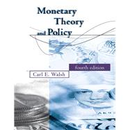 Monetary Theory and Policy by Walsh, Carl E., 9780262035811