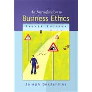 An Introduction to Business Ethics by DesJardins, Joseph, 9780073535814