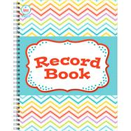 Chevron Record Book by Carson-Dellosa Publishing, LLC, 9781483805818