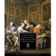 The Broadview Anthology of Restoration and Early Eighteenth-Century Drama by Canfield, J. Douglas; Von Sneidern, Maja-Lisa, 9781551115818