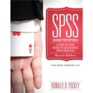 SPSS Demystified: A Simple Guide and Reference by Yockey; Ronald D, 9780205735822