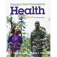 Looseleaf Connect Core Concepts in Health, Brief 14e w/ Connect Access Card by Insel, Paul; Roth, Walton, 9781259625824