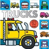 Lift-the-Flap Tab: Trucks by Priddy, Roger, 9780312515829