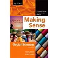 Making Sense in the Social Sciences A Student's Guide to Research and Writing by Northey, Margot; Tepperman, Lorne; Albanese, Patrizia, 9780195445831
